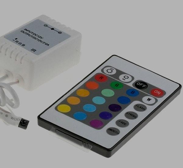 CONTROLADOR TIRAS LED RGB ECO – Infrarojos