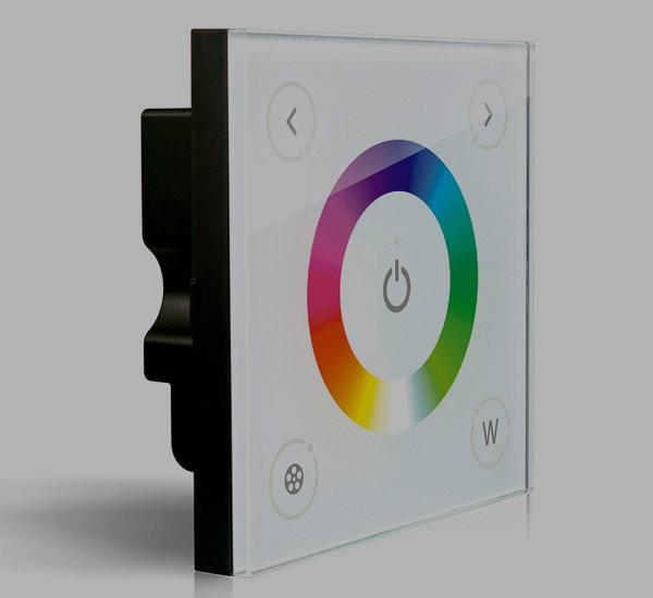 PANEL TÁCTIL CONTROLADOR RGB+W
